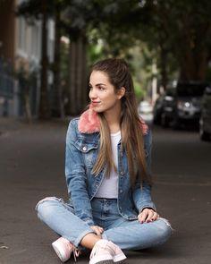 Natalia Merino Stapleton (@cinnamonstyle) Outfit de hoy para ir la Universidad  cómoda con @adidaspe