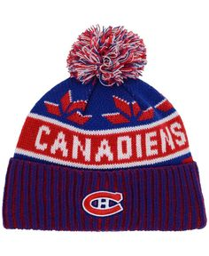 Old Time Hockey Montreal Canadiens Dasher Pom Knit Hat Men - Sports Fan Shop  By Lids - Macy s c86f4b516