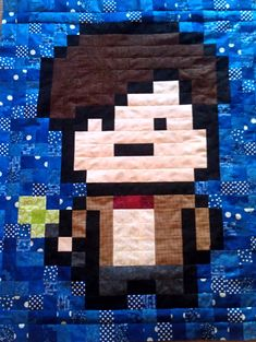 geek-baby-quilt-blankets dr who room.  I think Hannah would really enjoy this