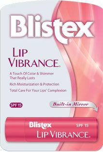 Blistx Lip Vibrance tinted lip balm