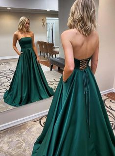 Strapless Backless Emerald Green Long Prom Dress, Backless Emerald Green Formal Graduation Evening Dress Related posts:Prom Chic Ball Gowns Prom Dresses Red Off-the-Shoulder Long Prom Dress Evening D. Dark Green Prom Dresses, Pretty Prom Dresses, A Line Prom Dresses, Backless Prom Dresses, Formal Evening Dresses, Emerald Green Formal Dress, Simple Prom Dress, Emerald Prom Dress, Different Prom Dresses
