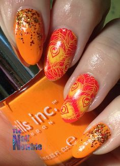 GOT Polish? Orange! - Nail Newbie