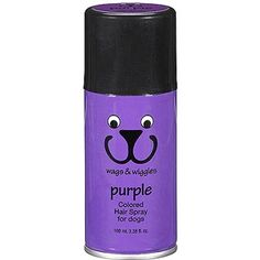 Wags & Wiggles Pet Colored Hair Spray, Purple