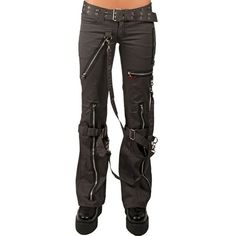 Dark Fashion, Gothic Fashion, New Fashion, Womens Fashion, Trash And Vaudeville, Goth Pants, Punk Outfits, Steampunk, Look Cool