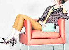 Via Cool Chic Style Fashion: The J.Crew Collection fall 2012 lookbook. Click image to see more!
