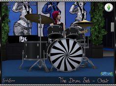 SrslySims   The Drum Set - Chair