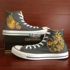 54313698026aa8 15 Top Rose Floral Shoes-Custom Converse Hand Painted All Stars ...