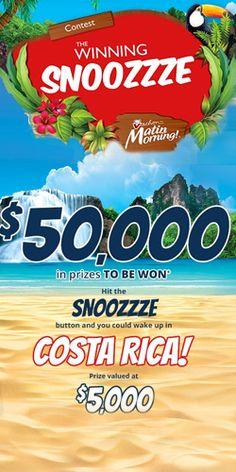 Win a Tropical Escape to Costa Rica from Vachon
