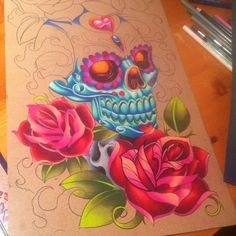 Artwork from Tony Ciavarro. What do you think?    Image from Tattoos by myttoos.com