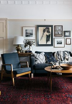 How to Pick a Sofa Color That Will Work for Your Home -If you choose a sofa that's a similar color to your flooring, make sure you have contrasting elements to break up the space. A dark sofa on a dark area rug should have either chrome/light legs or an accompanying coffee table in a lighter tone.
