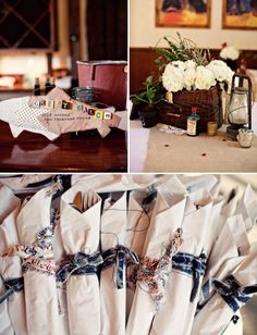 """from Green Wedding Shoes, """"Americana Rustic 4th of July Wedding: Whitney + Justin"""", photography by Ashley Rose"""