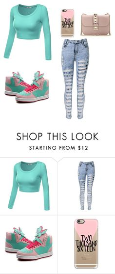"""Untitled #1093"" by august-baee ❤ liked on Polyvore featuring J.TOMSON, Casetify, Valentino, women's clothing, women, female, woman, misses and juniors"
