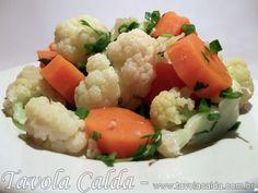 Salada de Couve-Flor com Cenoura