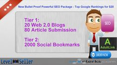 Powered by Niche Over 2100 Web Article And Bookmarks! More improvements With New Monster version focuses on few but quality links which are then sup Seo Tutorial, Seo Packages, Web 2, Search Engine Optimization, Bookmarks, Bullet, Packaging, Google, Blog