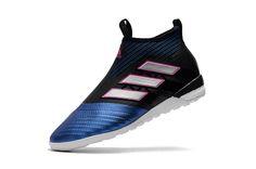 d5238e666 ACE Tango 17+ Purecontrol TF Core Black White Blue Cheap Soccer Shoes