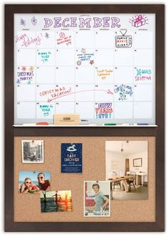 PLEASE NOTE: EVERY frame is available with a cork panel under the calendar - SOME frames are also available with a fabric bulletin board panel - scroll thru the frame swatches to see all options. - Ou