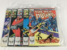 Buy online, view images and see past prices for 5 Marvel Comics Group, The New Mutants. Invaluable is the world's largest marketplace for art, antiques, and collectibles. Giving Quotes, The New Mutants, Online Bidding, Antique Decor, Marvel Comics, Auction, Group, Antiques, News