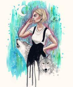 Aurora Aksnes art | Tumblr