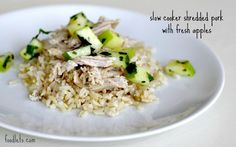 THIS IS THE JUICIEST SLOW COOKER PORK I'VE EVER HAD. We have another awesome (and simpler) recipe for slow cooker pork here but this one, inspired by Real Simple, works even harder. If you're worri...