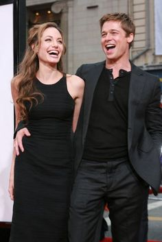 Brad Pitt and Angelina Jolie Best Moments - Celebrity pictures, Marie Claire