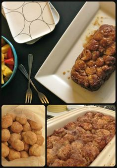 Monkey Bread for Two No canned biscuits here, but still quick and easy and perfect for breakfast. #breakfast #recipe