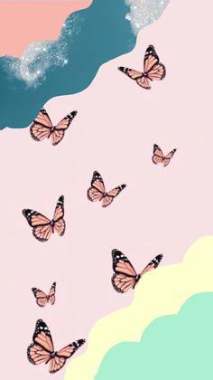 Cute Patterns Wallpaper, Aesthetic Pastel Wallpaper, Unique Wallpaper, Retro Wallpaper, Aesthetic Backgrounds, Aesthetic Wallpapers, Iphone Wallpaper Vsco, Trippy Wallpaper, Iphone Background Wallpaper