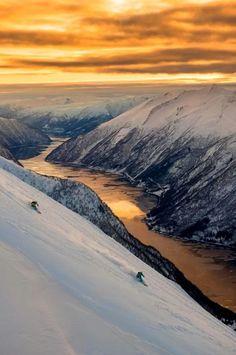 The Sunnmøre Alps, Norway  Sunnmøre is the southernmost traditional district of the western Norwegian county of Møre og Romsdal. Its main city is Ålesund. The region comprises the municipalities of Giske, Hareid, Herøy, Norddal, Sande, Skodje, Haram, Stordal, Stranda, Sula, Sykkylven, Ulstein, Vanylven, Volda, Ørskog, Ørsta, and Ålesund.