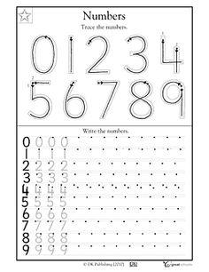 Trazo de números