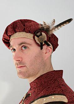 The Fenwick Hat - Custom Men's Renaissance Muffin Hat