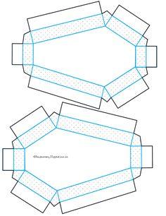 pattern for coffin box invitation. La Super Mamy: Halloween...DIY invitación…