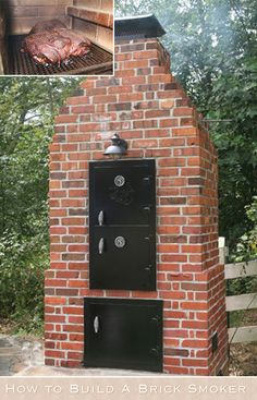 How to Build A Brick Smoker