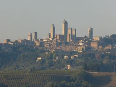 Towers of San Gimignano, Tuscany, Italy