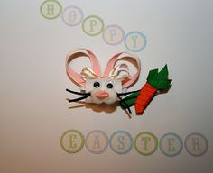 My name is Momma: Easter Bunny and Carrot hair clip HAIRBOW tutorial