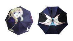 cool japan クールジャパンの神髄。 傘をさし、上を覗けばそこには…
