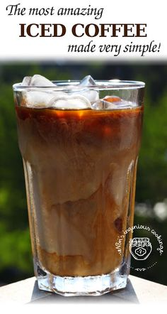 Nóri's ingenious cooking: Cold brewed iced coffee - #dairyfree #sugarfree #healthy #vegan #recipe #healthyrecipe #glutenfree