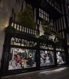 Liberty London unveils its Christmas windows – but the real magic lies inside Christmas Window Display, Christmas Windows, Christmas Displays, Fashion Store Display, London Christmas, White Christmas, Interior Window Shutters, Shop Window Displays, Store Displays