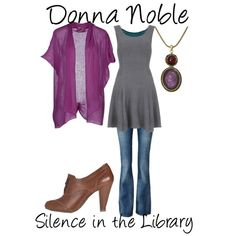 donna noble silence in the library - Google Search
