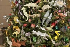 Origami Holiday Tree   American Museum of Natural History   Exhibitions   Time Out New York