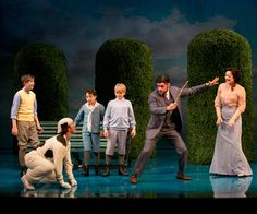 """Porthos was originally played by Thayne Jasperson in the A.R.T production of """"Finding Neverland."""""""