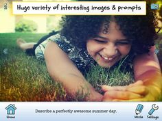 10 Great Apps for Elementary Kids Writing, Writing Activities, Writing Pictures, Great Apps, Pre Kindergarten, Happy People, Social Skills, Custom Photo, Teacher Resources
