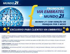 Hotpage Via Embratel Mundo 21