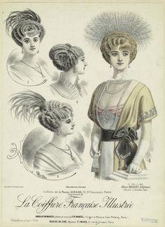 ❤ - La Coiffure Française Illustrée - 1913