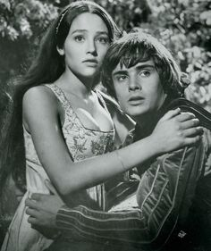 romeo and juliet  I remember this being a movie the entire 7th grade watched in the auditorium. I also remember I was one of maybe a handful of students who paid attention and left in love with Shakespeare.