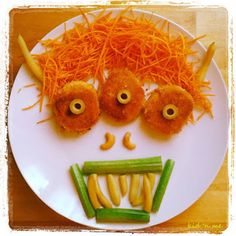 Funny Food Friday: pasti mostruosi - monster meals it's a good idea for Funny Food, Food Humor, Bento, Watermelon, Children, Kids, Friday, Meals, Fruit