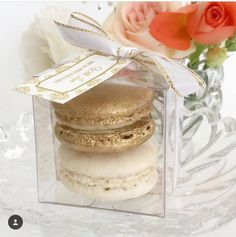 Wedding favors macaroon