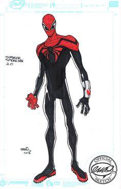 Superior Spider-Man by Humberto Ramos comicbookcharacters Comic Book Artists, Comic Book Characters, Comic Artist, Comic Character, Comic Books Art, Character Design, Marvel Art, Marvel Heroes, Ms Marvel