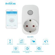 Broadlink SP3 Contros CC SP MINI3 Wireless Smart Power plug Socket 16A /10A Timer Wifi Remote Control for Smart Home IOS Android