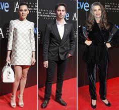 María León, Paco León y Ángela Molina en la fiesta de nominados a los Premios Goya #actrices #cine #premiosgoya #famosos