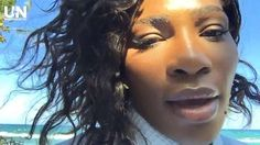 Serena Williams Checks In from Latest Photo Shoot - Via   UNINTERRUPTED:  Training, photo shoot, traveling to HSN for #SerenaStatement. The grind never stops for Serena Williams.