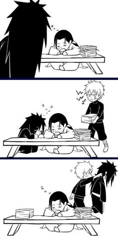 """XD I'm dying! Tobirama's like """"no! Away from elder brother!"""" And he just moves madara!!"""